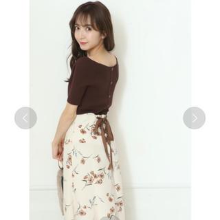 Rirandture - リランドチュール♡ 前後2WAY釦リブニット