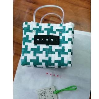 マルニ(Marni)の美品マルニ MARNI  ハンドバッグ ピクニックバッグファッション(かごバッグ/ストローバッグ)