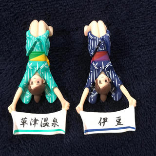 フチ子 草津 伊豆 フィギュア 温泉(キャラクターグッズ)