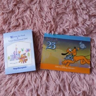 ディズニー(Disney)のプーさん&プルートミニメモ帳セット(キャラクターグッズ)