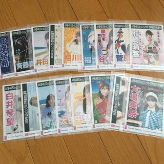 エスケーイーフォーティーエイト(SKE48)のSKE48 Teacher Teacher 生写真 17枚セット AKB48(アイドルグッズ)