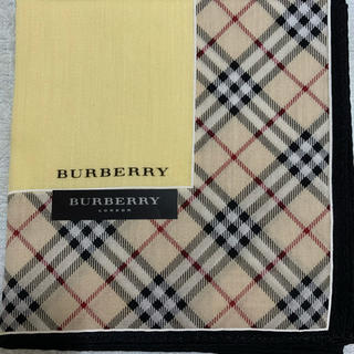 BURBERRY - 人気バーバリー レディスハンカチ⑯
