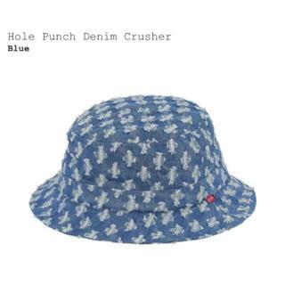 Supreme - M/L Supreme Hole Punch Denim Crusher