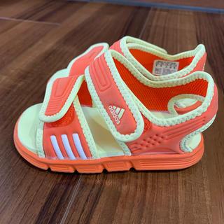 アディダス(adidas)の美品✨adidas アディダス サンダル 14センチ(サンダル)