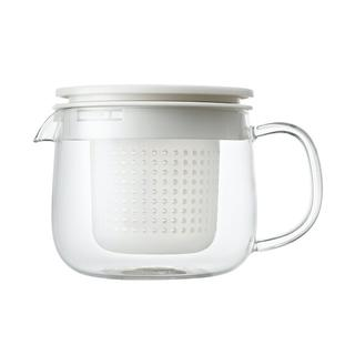 MUJI (無印良品) - 無印良品 耐熱ガラス ポット 小 約670ml