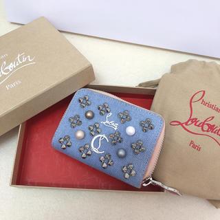 クリスチャンルブタン(Christian Louboutin)のクリスチャンルブタン  財布 デニム 新品 正規品(財布)