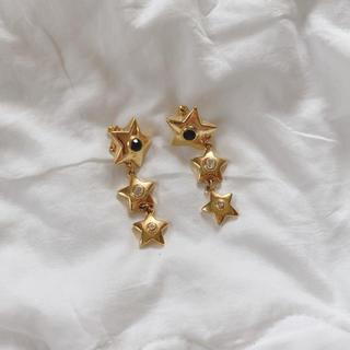 Lochie - vintage イヤリング 星