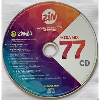 ズンバ(Zumba)の最新 新曲 ZUMBA ズンバ megamix77 メガミックス CD (クラブ/ダンス)