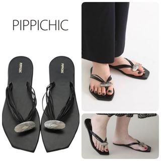 DEUXIEME CLASSE - 新品 Pippichic コンチョ トング サンダル ブラック L