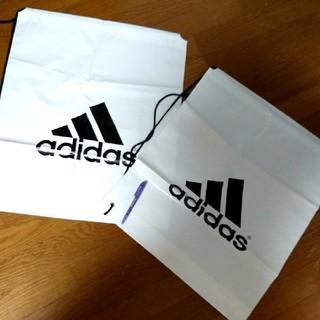 アディダス(adidas)のアディダス ビッグな袋2個 未使用(日用品/生活雑貨)