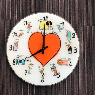 イデー(IDEE)のIDEE ガラスウォールクロック(掛時計/柱時計)