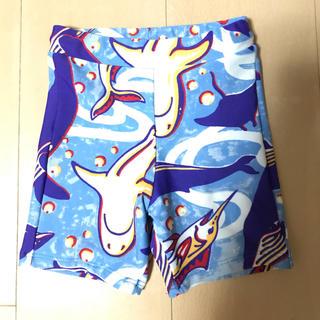 アンパサンド(ampersand)のampersand  水着 男の子 ブルー 魚 サメ 90㎝ (水着)