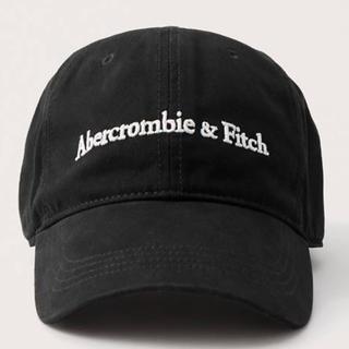 Abercrombie&Fitch - アバクロキャップ【最新作.BK.公式オンライン品.本日終了価格