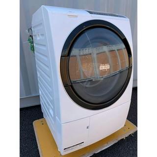 ヒタチ(日立)の日立ドラム式洗濯乾燥機 ビッグドラムスリム マンショ ン最適 10kg /6kg(洗濯機)