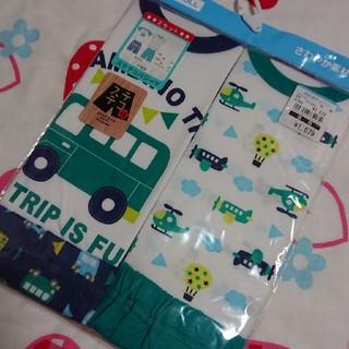 西松屋 - 新品☆80cm 半袖 ステテコ パジャマ 2組セット