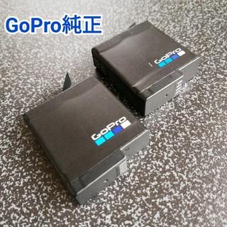 ゴープロ(GoPro)の【GoPro純正】バッテリー2個セット✨(ビデオカメラ)