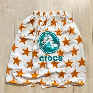 新品 crocs クロックス キッズ ラップタオル