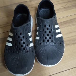 アディダス(adidas)の17.5センチ  アディダススリッポン(スリッポン)
