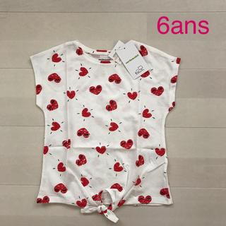 ネクスト(NEXT)のヴェルボデ 半袖カットソー 6ans(Tシャツ/カットソー)