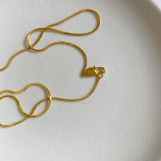 TODAYFUL - Ines thin necklace (gold)