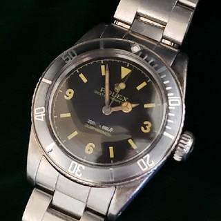 ロレックス(ROLEX)のRef6200 8mmリューズ2ライン表記サブマリーナ カスタム(腕時計(アナログ))