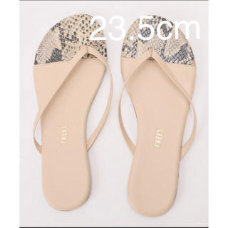 tkees two tone tong sandal 23.5cm