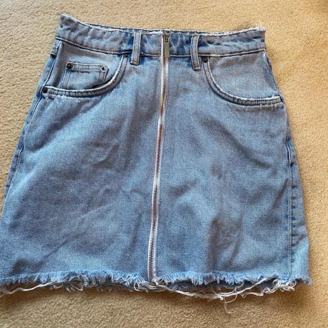 ZARA(ザラ)のZARA デニムミニスカート レディースのスカート(ミニスカート)の商品写真