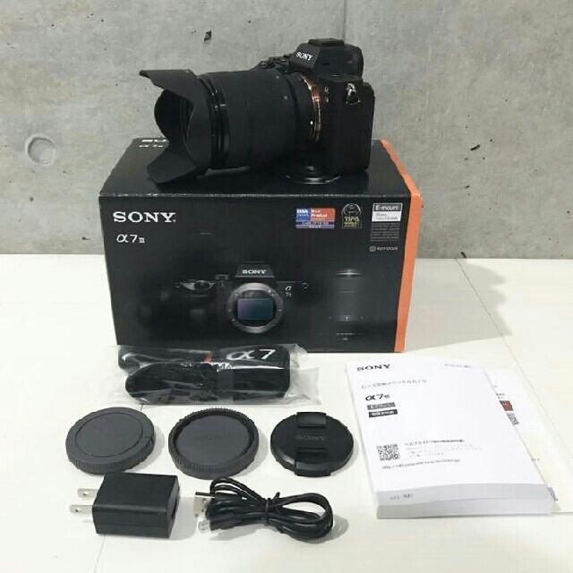 SONY(ソニー)のソニー α7 Ⅲ ILCE-7M3K  ズームレンズキット スマホ/家電/カメラのカメラ(ミラーレス一眼)の商品写真
