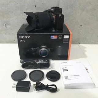 SONY - ソニー α7 Ⅲ ILCE-7M3K  ズームレンズキット