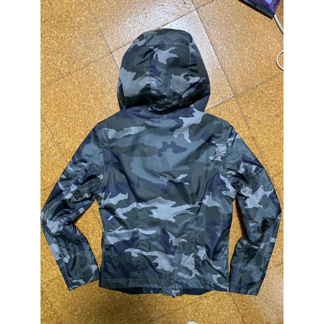 Emporio Armani(エンポリオアルマーニ)のエンポリオアルマーニ 迷彩ライダースジャケット 日本M 美品 メンズのジャケット/アウター(ライダースジャケット)の商品写真