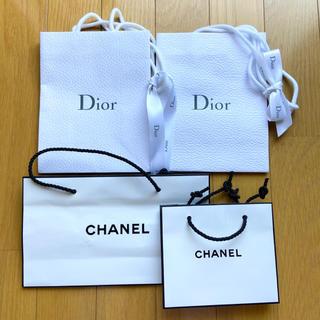 Dior - dior chanel 紙袋 4枚