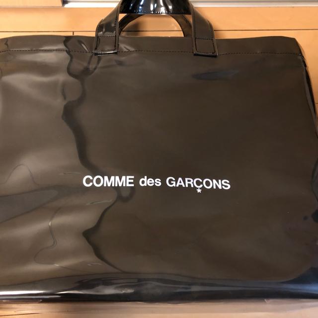 COMME des GARCONS(コムデギャルソン)の正規品 ギャルソン PVC トートバッグ ブラックマーケット メンズのバッグ(トートバッグ)の商品写真