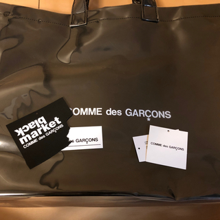COMME des GARCONS - 正規品 ギャルソン PVC トートバッグ ブラックマーケット