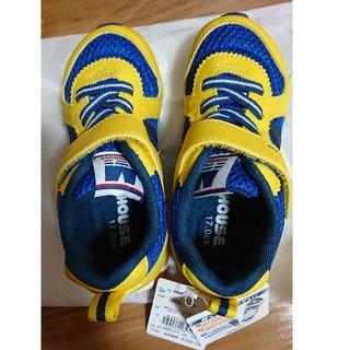 mikihouse - 新品ミキハウススニーカー靴シューズ17.0イエロー運動靴