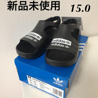 アディダス(adidas)の新品 アディダス  アディレッタ プレイ サンダル 15.0 ブラック(サンダル)