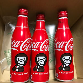 コカコーラ(コカ・コーラ)の コカ コーラ 2020 BAPE マイロデザイン ボトル 250ml 3本(ソフトドリンク)