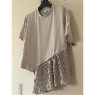 SCOT CLUB - 今期新作 新品 ガレナ プリーツカットソー Tシャツ トップス 半袖