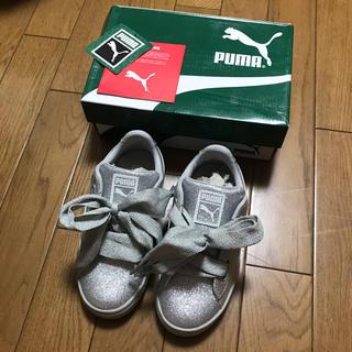 PUMA - プーマ★グリッタースニーカー シルバー