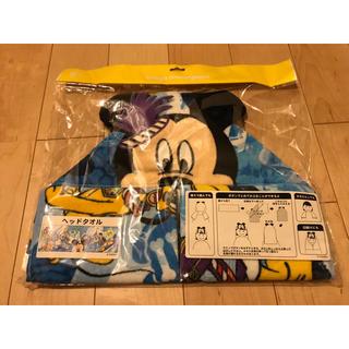 ディズニー(Disney)のディズニー 幼児用ヘッドタオル(タオル/バス用品)