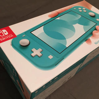 ニンテンドースイッチ(Nintendo Switch)の【新品未開封品】Nintendo Switch Lite ターコイズ(携帯用ゲーム機本体)