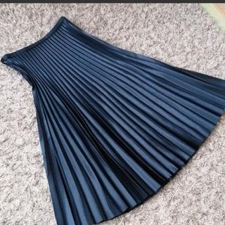 ZARA - ZARA WOMAN ロングプリーツスカート
