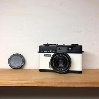 コニカミノルタ(KONICA MINOLTA)のKonica C35 flash matic【完動品、整備品】(フィルムカメラ)