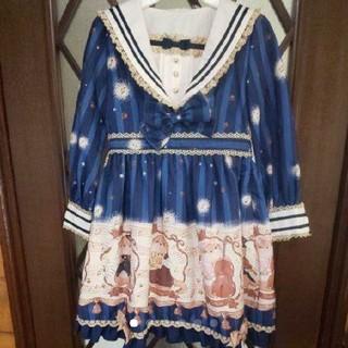 Shirley Temple - to alice  ワンピース&カチューシャ  130cm