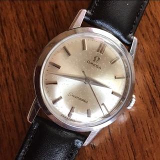 OMEGA Seamaster 手巻き アンティークオメガ メンズ(腕時計(アナログ))