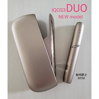 アイコス(IQOS)のIQOS3 DUO ブリリアントゴールド 本体(タバコグッズ)