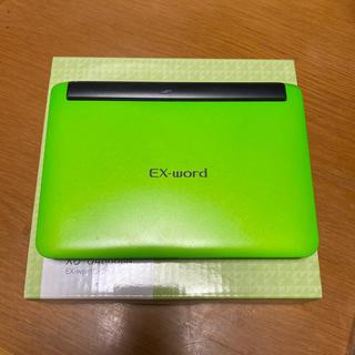 CASIO - CASIO 電子辞書 EX-word  XD-u4800GN