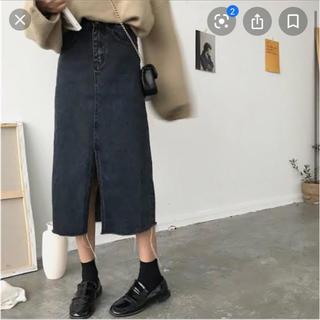 STYLENANDA - 17kg ロングデニムスカート Lサイズ イチナナキログラム