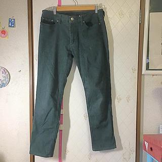 シマムラ(しまむら)のしまむら 緑 ジーンズ パンツ ズボン(デニム/ジーンズ)