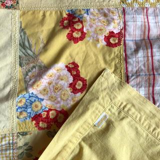 PINK HOUSE - ピンクハウス  パッチワークのスカーフ 黄色