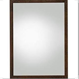 MUJI (無印良品) - 未使用⭐︎無印良品 壁に付けられる家具・ミラー・小・タモ材/ブラウン